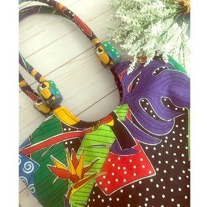 Handbags - Vintage Tropical Tote